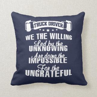 Vrachtwagenchauffeur Sierkussen