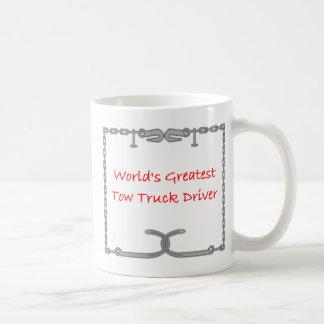 Vrachtwagenchauffeur van het Slepen van werelden Koffiemok