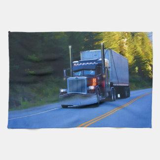 Vrachtwagenchauffeurs, het Grote Art. van de Handdoeken