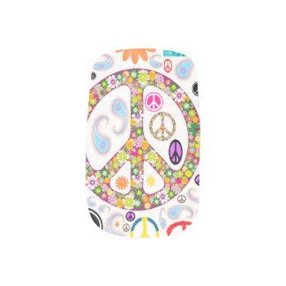 Vrede & de Collage van Paisley Minx Nail Folie
