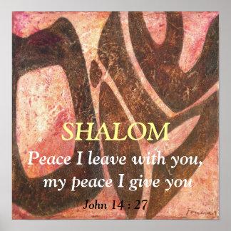 Vrede die ik met u, mijn vrede I gi… Poster