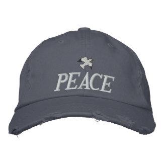 Vrede Geborduurd Pet