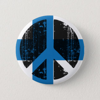 Vrede in Finland Ronde Button 5,7 Cm