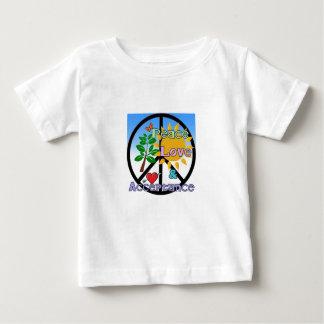 Vrede, Liefde, en het Teken van de Goedkeuring/van Baby T Shirts
