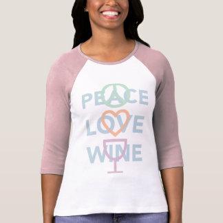 Vrede, Liefde en Wijn T Shirt