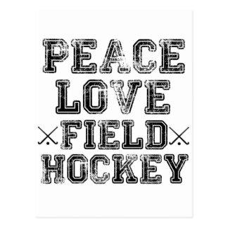 Vrede, Liefde, Hockey Briefkaart