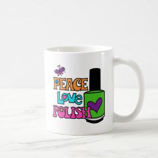 Vrede, Liefde, & Pools Koffiemok