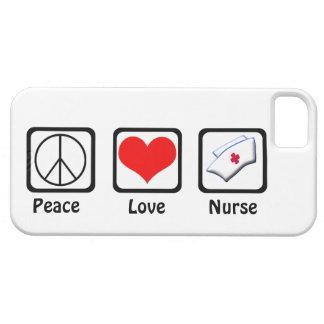 Vrede, Liefde, verpleegster-Symbolen Barely There iPhone 5 Hoesje