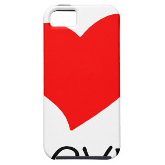 vrede love12 tough iPhone 5 hoesje
