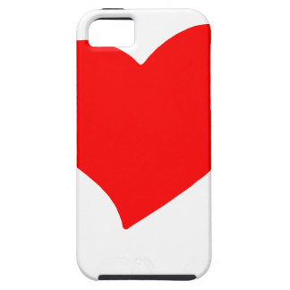 vrede love13 tough iPhone 5 hoesje
