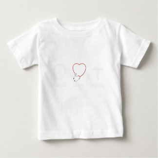 vrede love43 baby t shirts