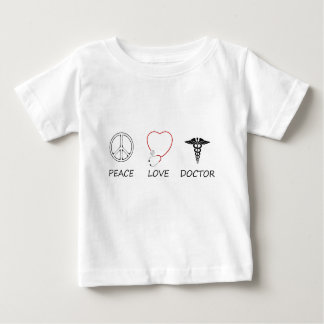 vrede love44 baby t shirts