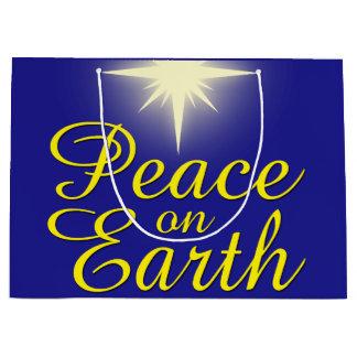 Vrede op de Zak van de Gift van de Vakantie van de Groot Cadeauzakje