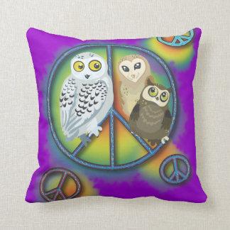 Vrede Owl~pillow Sierkussen