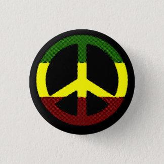 Vrede Reggae Ronde Button 3,2 Cm