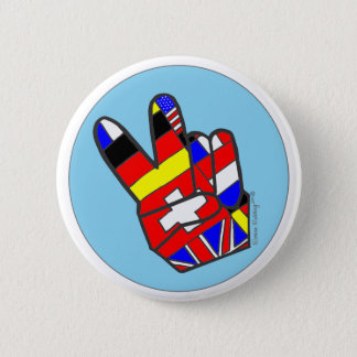 Vrede! Ronde Button 5,7 Cm