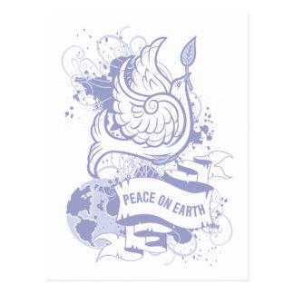 Vrede ter wereld briefkaart