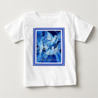 Vrede ter wereld Met Duiven Baby T Shirts