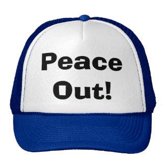 Vrede uit! mesh petten