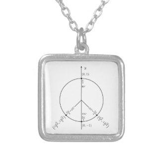 Vrede Unit.png Zilver Vergulden Ketting