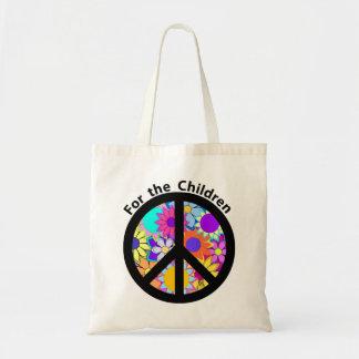 Vrede voor de Kinderen Budget Draagtas