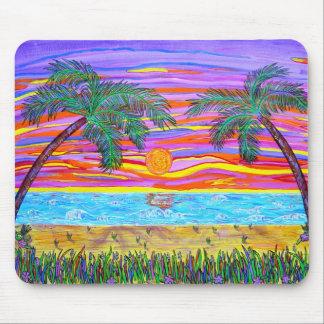 Vreedzaam Tropisch Paradijs Muismat