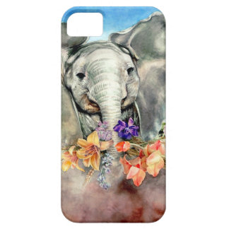 Vreedzame Olifant Barely There iPhone 5 Hoesje