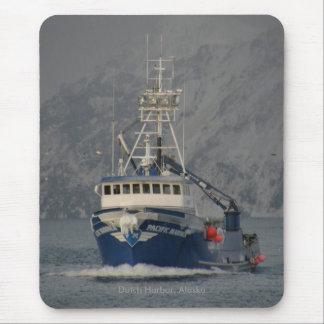 Vreedzame Zeeman, de Boot van de Krab in Muismat