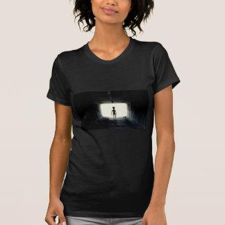 Vreemd het Weggaan Ruimteschip T Shirt
