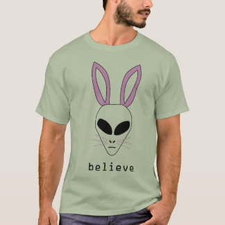 vreemd Pasen konijntje T Shirt