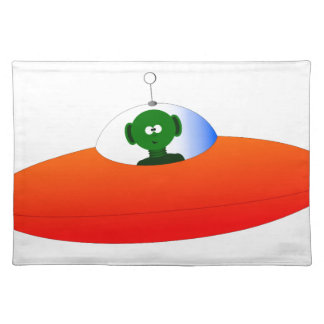 Vreemd UFO Placemat