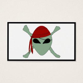Vreemde Piraat Visitekaartjes
