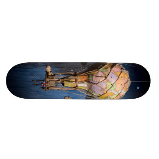 Vreemde steampunkballon 21,6 cm skateboard deck