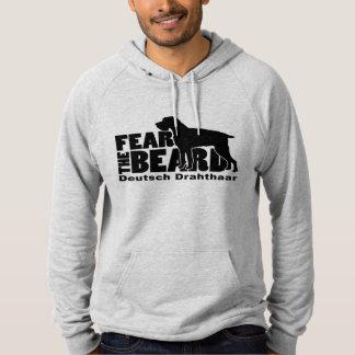 Vrees de Baard - Deutsch Drahthaar Hoodie