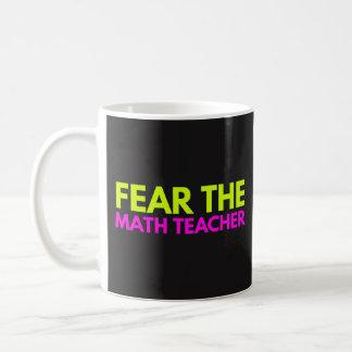 Vrees de Leraar van de Wiskunde - de Mok van de