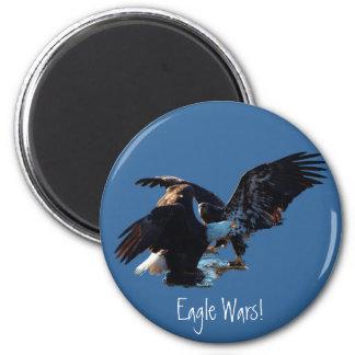 """""""Vrees niet meer! """"De Gift van de Vlag Eagle/US Koelkast Magneet"""