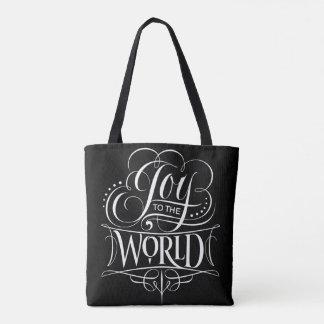 Vreugde aan de Zwarte van de Kalligrafie van Draagtas