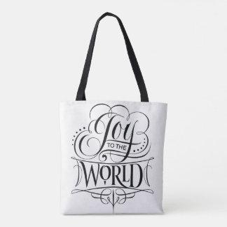 Vreugde aan het Wit van de Kalligrafie van Draagtas