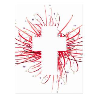 VREUGDE! in het Kruis Briefkaart