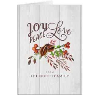 Vreugde, Kerstmis Swag ID438 van de Liefde van de Kaart