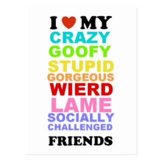 Vrienden Briefkaart