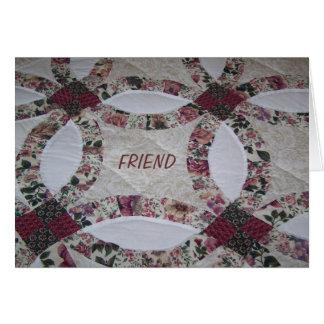 Vrienden/Dekbedden Kaart