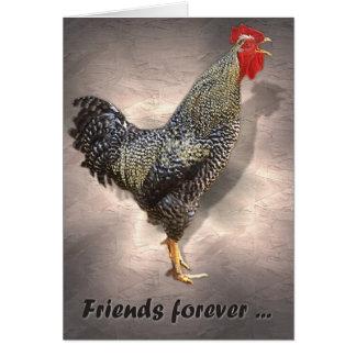 Vrienden voor altijd. kaart