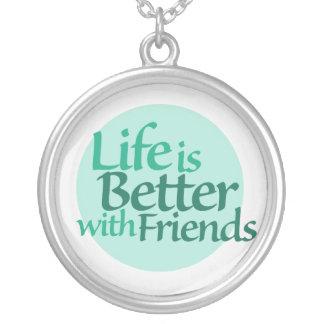 Vriendschap Zilver Vergulden Ketting
