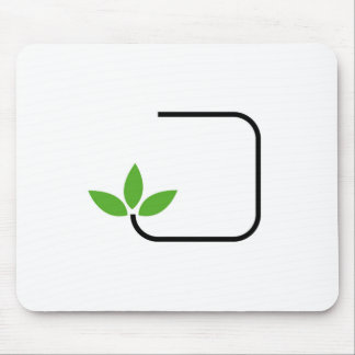 Vriendschappelijke grafisch van Eco Muismat