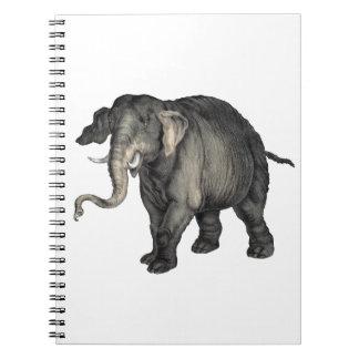 vriendschappelijke olifant 🐘 notitieboek