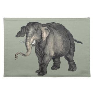 vriendschappelijke olifant 🐘 placemat