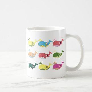 Vriendschappelijke Walvissen Koffiemok
