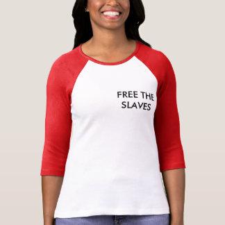 Vrij de slaven t shirt