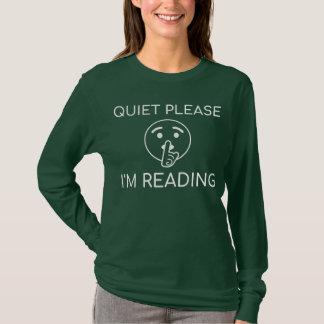 Vrij gelieve te lezen ik - Grappig Lang Overhemd T Shirt